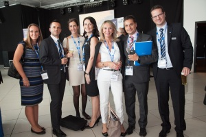 The Intercruises team at the CLIA Europe event