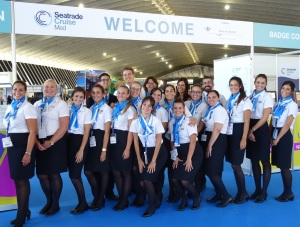 The Intercruises Tenerife staff at Seatrade Cruise Med 2016