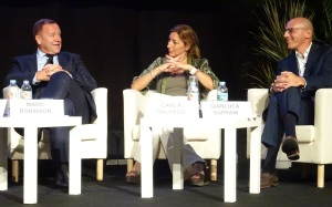 Mark alongside fellow panellists Carla Salvado and Gianluca Suprani